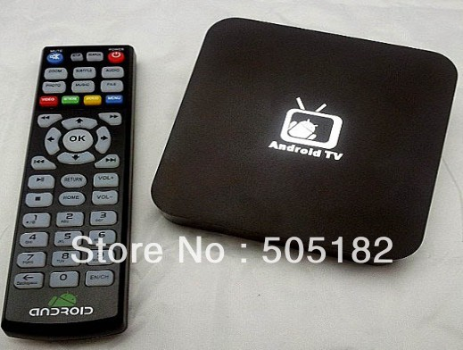 Google Android 4.0 tv BOX Cortex A9 1.2GHz WiFi HD 1080P 3D HDMI 1GB RAM 4GB Internet TV Box Multimedia Player Android freeship(China (Mainland))