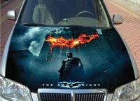 Automotive universal hood HD inkjet / Hood personalized car stickers / garland stickers,Batman posters,