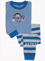 Hot Free Shipping Thomas Pajama set  Wholesale 6sets/lot Baby Sleepwear Shirts  pants /long sleeve Underwears sets 6sizes 7034