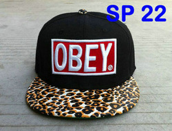 Cheap OBEY leopard print classic Snapback sorry I&#39;m Fresh strap back snapbacks baseball hats quality without MOQ freeshipping(China (Mainland))