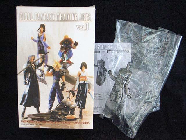 Final Fantasy 7 VII Vol.1 Trading Arts Rinoa Heartilly Metallic Ver Figure MIB(China (Mainland))