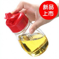 Revitalize 350 glass spice bottle kitchen utensils liquid sauce pot soy sauce bottle vinegar bottle leak oiler