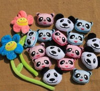 Diy handmade materials decoration cartoon plush cloth fabric clothing panda head