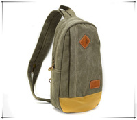 free shipping chest pack  fashion leisure bags canvas shoulder bag sports men messenger bag men's bag traveling outdoor
