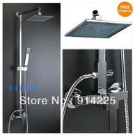 Modern Luxury Wall Mounted RainShower Faucet Set 071365A  /freeshipping