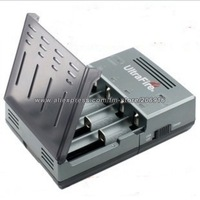 Ultrafire WF-128 10440 16340 RCR123 14500 18500 18650 3.7v Battery Charger 2A Mobile Power Supply USB Charger