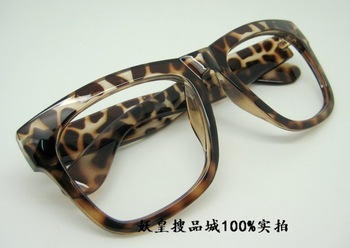 High quality big box vintage leopard print eye box eyeglasses frame glasses frame glasses frame frames female