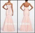 2013 Strapless Trumpet Prom Dress with Cut Glass Beads Style MG163