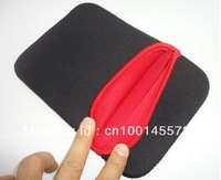 """FREE SHIPPING wholesale Black Red Neoprene Sleeve Bag Case For 7"""" Tablet PC 10pcs/lot"""