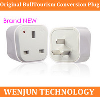 Wholesale & retail Original Bull power converter socket L01CE, British standard iphone 4s/ipad,  Singapore  British 3pcs/lot