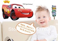Car Transparent PVC Wall Sticker, 60*90CM,  home deco, Kid's Room deco,  freeshipping, factory price