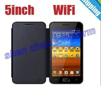 WHOLESALE  note 2 n7100 phone quadband 5 inch Capacitive screen Android 4.0 OS WIFI phones  free shipping