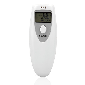 Hot White Portable LCD Digital Breath Alcohol Analyser Breathalyzer Tester Z0017