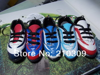 Hot!Fashion Soccer/Football Shoes keychain ring for key Handmade decoration 5pcs/lot