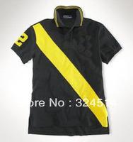 Wholesale Men's polo shirts,brand cotton polo shirts,Men's golf shirts,Turn-down tshirt.Men's Strip Polo shirt
