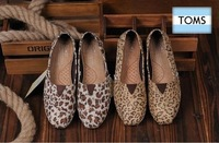 Free shipping! 2013 new fashion canvas shoes and shoes low-top shoes leopard shoes
