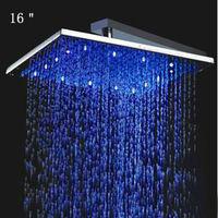 16 Inch big top LED Rain Shower Head,Bathroom Shower Head
