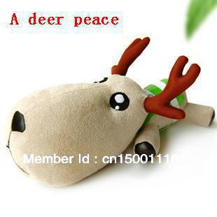 A deer safe car in addition to taste charcoal bag housing decoration cute toys fresh air purification to reduce radiation(China (Mainland))