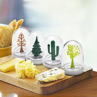 4pcs Four seasons plants animal series castoffs kitchen supplies small fresh spice jar Animal Castor Free Shipping