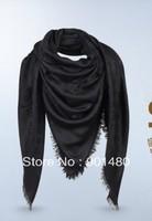 brand womens scarf wrap shawl black