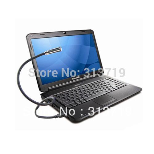 Portable PC Notebook Laptop Computer Keyboard USB LED Lamp Flexible Light 2Color JX0088(China (Mainland))