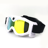 Wholesale ERA-F3 HD 720p Ski Sport glasses video camera Goggles skiing Sunglasses  DHL