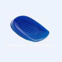 100% gel heel cushion shock absorption and massage insole