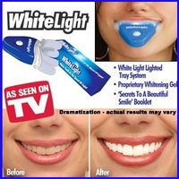 Free Shipping ! 2013 UV Light Technology White Light Dental Teeth Care Teeth Whiten Perfect Smile As Seen As On TV