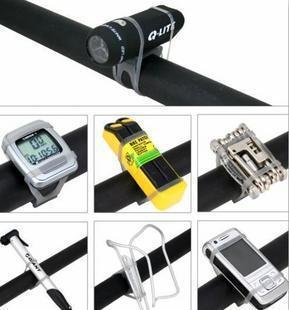 The road bicycle silica gel strap rope with lights bicycle universal into9 ride(China (Mainland))