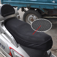 Free shipping Nsutite stereo motorcycle electric bicycle sunscreen slip-resistant cushion cover seat cover