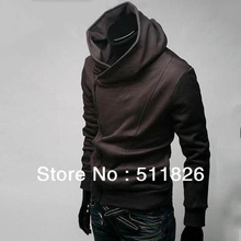 Free shipping High Collar Men's Jacket Top Brand ,Men's Dust Coat Hoodies Clothes # 5198(China (Mainland))
