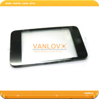 5pcs/lot Black Touch Screen Glass Digitizer Assembly for ipod touch 3rd Gen Free Shipping by Hongkong Post