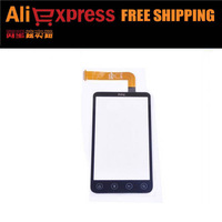 EW TOUCH SCREEN DIGITIZER for HTC G17/X515M EVO 3D Black free shipping