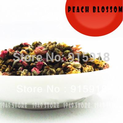 Flower Tea Peach Tea 100 Fragrant Premium Loose Dried Healthy Beauty Herbal Tea 50g