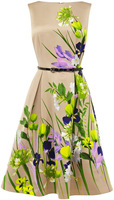 Free shipping  Women  fashion Polyester AMELIE PRINT DRESS sexy elegant print dress    d0321d25