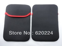 20 Pieces Free Shipping Portable Soft Protect Cloth Cover Case Bag Pouch for 7 Tablet PC MID Neoprene Sleeve Bag