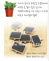 Wholesale DIY  mini rectangle wooden blackboard clip message chalkboard clips tags free shipping cute chalkboard