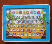 Free shipping,Russian language Y-pad ypad Y pad tablet table computer touch screen kids learning machine educational gift