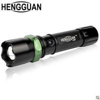 HENGGUAN825 flashlight long-range Q5 support mobile phone charging with detachable life-saving hammer