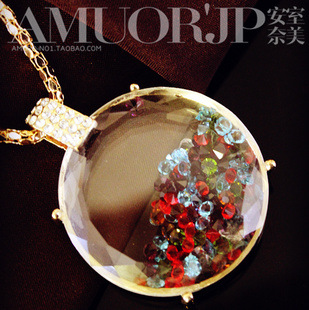 Min Order 15$ Free Shipping New Arrival Vintage Perfume Bottle Choker Necklaces 2013 Good Quality Wholesale Hot HG0859