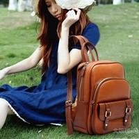 2013 women's student bag fashion handbag backpack school bag casual backpack travel bag