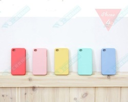 For iphone 4g 4gs for apple protective case mobile phone case jelly color covers shell tpu cover(China (Mainland))