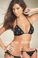 New POLO Women's Black pony Bikini Swimsuit, Beach Pants Wholesale bikinis shirts,Top quality,Free Shipping