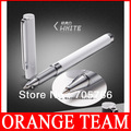 3pcs/lot Free shipping 2 in 1 Stylus Pen Touch Screen Metal Pen/ Capacitance pen for Apple IPhone 3G 3GS 4S 4G Ipad tablet pc