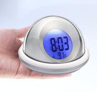Flying saucer ufo alarm clock brief fashion alarm clock talking alarm clock mute alarm clock