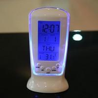 Led alarm clock calendar alarm clock rectangle alarm clock lazy alarm clock backlight alarm clock alarm clock