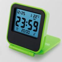 Travel alarm clock cosmetic box alarm clock quieten luminous alarm clock fashion alarm clock lazy alarm clock