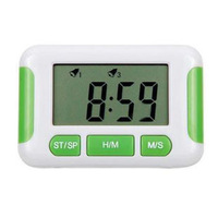 Alarum electronic kitchen timer luminous clock mute lazy alarm clock