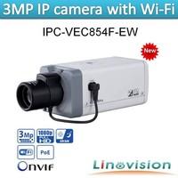 Linovision dahua IPC-HF3200 H.264 Sensor and 3 Megapixel Wi-Fi HD IP Camera IPC-VEC854PF-EW Free CMS Software