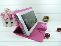 "Pink Black blue brown New 9"" Leather Universal MID Android Tablet PC Case Free Shpping"